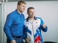А.В.Поветкин и В.В.Бельский