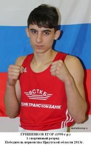 Гришенков Егор