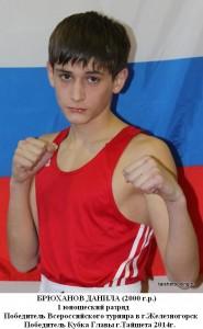 Брюханов Данила